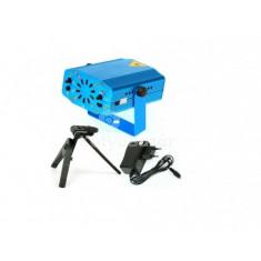 Lézer mini Disco fény Kék
