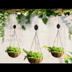 Emelő csiga függő növényekhez