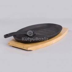 Öntöttvas steak sütő
