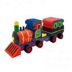 Fa vonat készítő szett