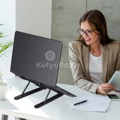 Állítható alumínium laptop állvány