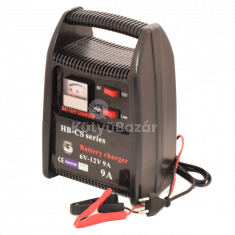 Normál + gyorstöltés funkciós autó akkumulátor töltő 6-12V