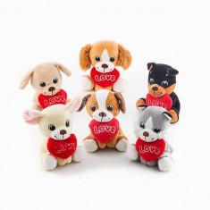 Valentin napi hűség kutyus