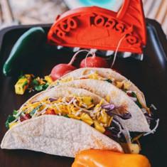 Taco készítő, tortilla pirító