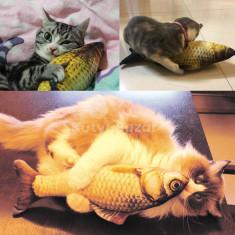 Mókás hal alakú párna cicáknak