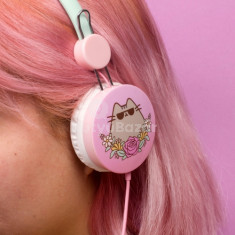 Pusheen cica fejhallgató