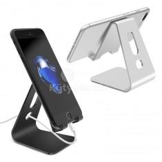 Asztali telefontartó töltőkábel elvezetővel