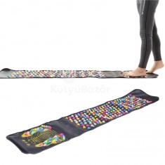 Akupresszúrás szőnyeg, talpmasszírozó szőnyeg, taposószőnyeg