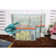 4 db-os Akasztható tároló táska szett