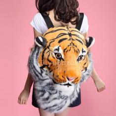3D tigris fejes hátizsák