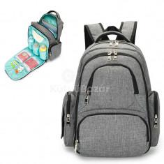Pelenkázó táska, kismama táska (többrekeszes)
