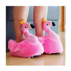 Flamingó mamusz, otthoni papucs