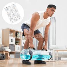 InnovaGoods vízzsák fitnesz edzéshez gyakorlási útmutatóval