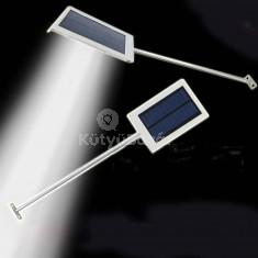 Vízálló 12 ledes napelemes kültéri lámpa