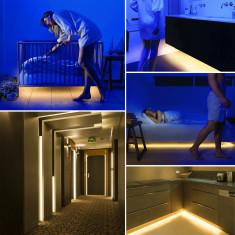 Mozgásérzékelős ágy alatti világítás