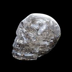 3D puzzle kristálykoponya