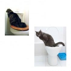 Macska wc-re szoktató szett