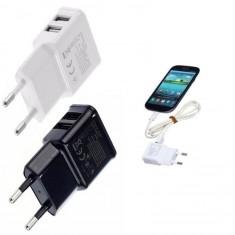 DUAL USB utazó adapter