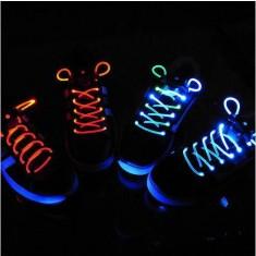 Világító cipőfűző 1 pár LED cipőfűző