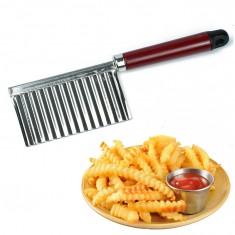 Extra éles hullámos krumpli kés