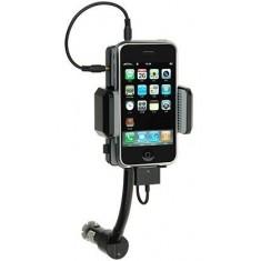 iPhone iPod Autós tartó + töltő + fm transmitter - Utolsó darabok!