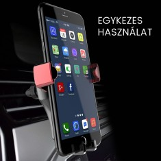 Gravity záras telefontartó szellőzőrácsra