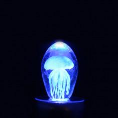 Medúza papírnehezék - LED lámpa