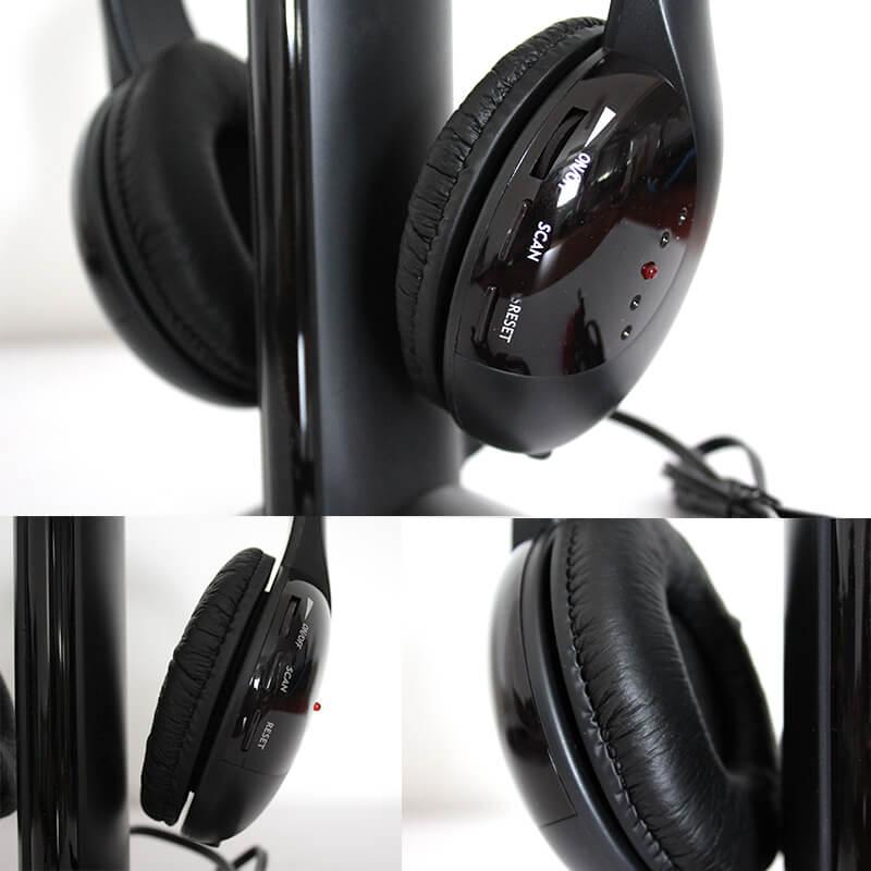 Vezeték nélküli fejhallgató fülhallgató mikrofonnal 5 az 1-ben ... eacf5b5894